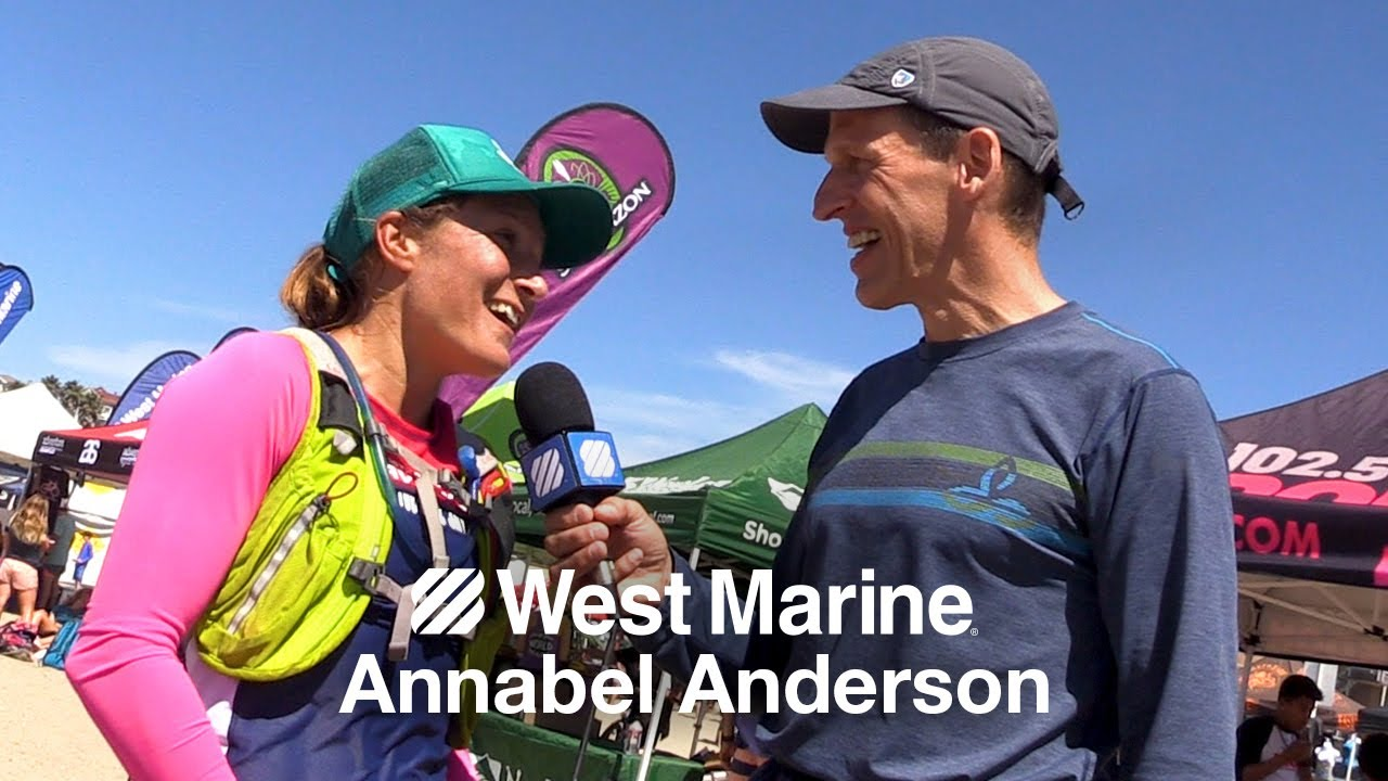 Annabel Anderson Interview with Matt Hyde after the 2017 Jay Race. West  Marine ca48c99a756