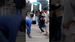 Bhojpuri dance on ramp enjoying Patna zoo .....