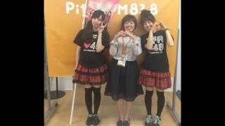 6/3(金)pitchFM83.8 生放送に、OFR48みかん&まいちんが出演させてい...