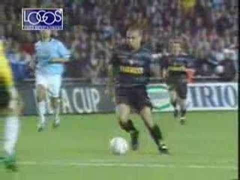 Ronaldo VS Lazio (Coppa UEFA 1998)