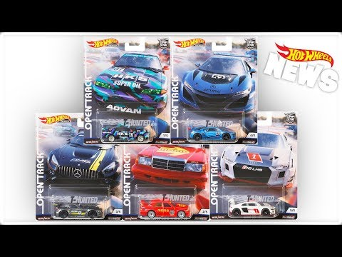 New 2019 'Open Track' Car Culture Announced! | Hot Wheels News 12/15/2018
