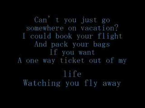 Simple Plan - Vacation[lyrics]