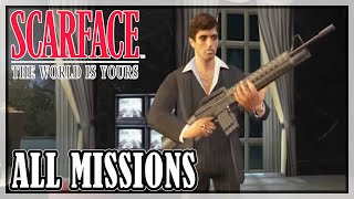 Scarface: The World is Yours - All missions | Full game