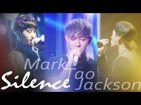 EXO Tao GOT7 Mark Jackson singing Silence (Mix Ver.)