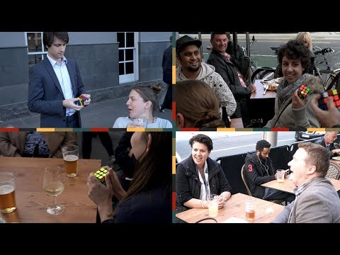 Thumbnail: Speed Rubik's Cubing for drunk people