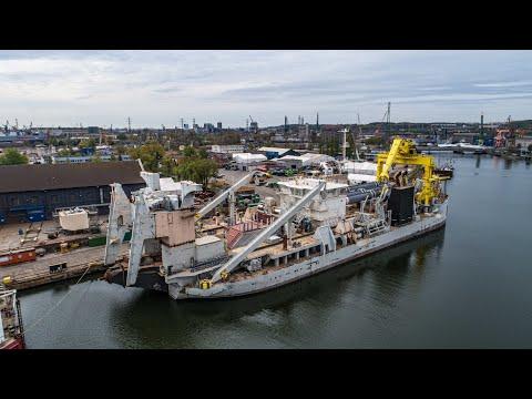 Stocznia Remontowa dokończy budowę ogromnej pogłębiarki