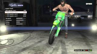 GTA V - Multiple Motorcycle Customization & Test - GTA 5