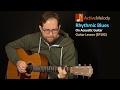 Acoustic Blues Guitar Lesson - Rhythmic Acoustic Blues - EP192