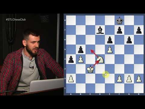 Rook & Bishop vs. Rook & Knight | Endgame Exclam!! - GM Cristian Chirila