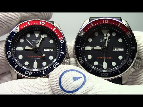 Seiko SKX007K vs SKX007J (and the SKX009K vs J)  What is the difference? Watch and Learn #29