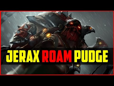 Jerax Roam Pudge | Dota 2 Ranked Pub Gameplay