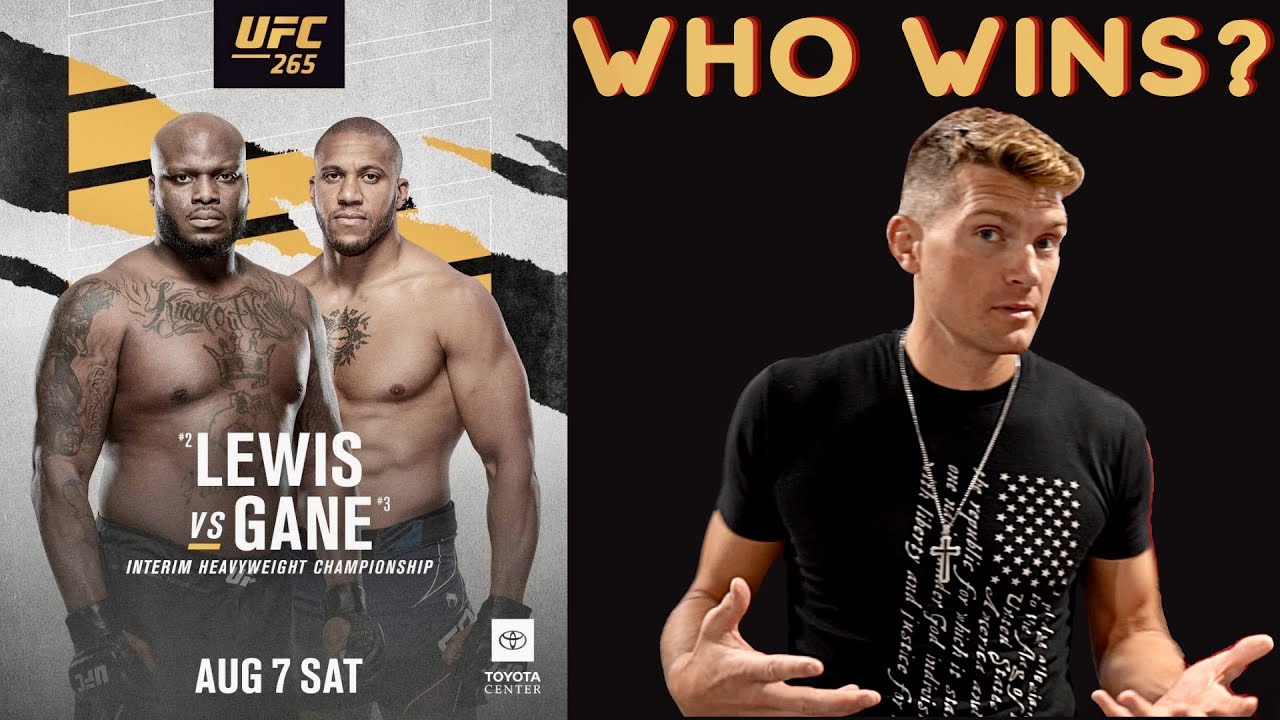 WHO IS THE BADDEST MAN ON THE PLANET?! UFC 265 Lewis VS Gane