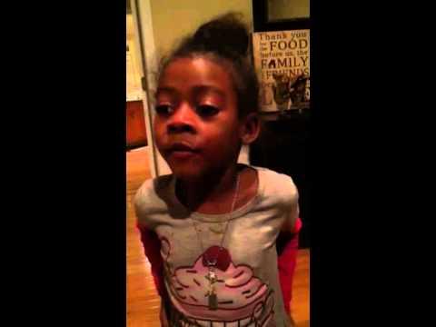 Little Girl - Caught Lying