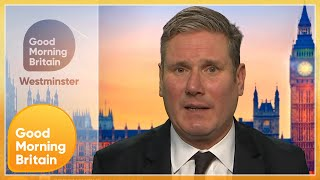 Sir Keir Starmer Reveals How He Would Handle Anti-Vaxxers & Reacts to the New COVID Measures | GMB