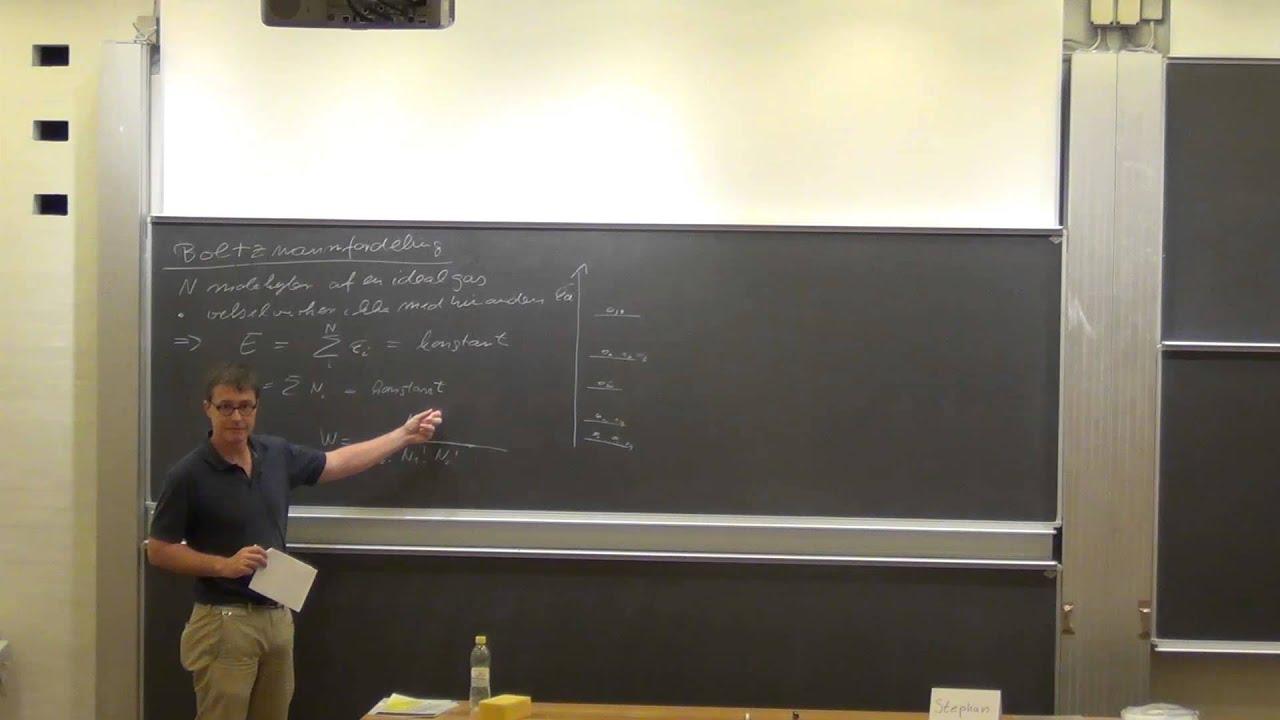 FysKem1: Uge 1: 1.3. Boltzmann fordeling (v. 14)