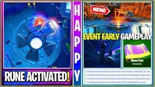 *NEW* Fortnite: First Rune Activated, Leaked Bunker Open, Encrypted Easter Skin!