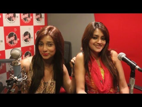 Power Girl   Nusrat Jahan & Sayantika   Film Power Promotion   At Fever 104 FM Studio