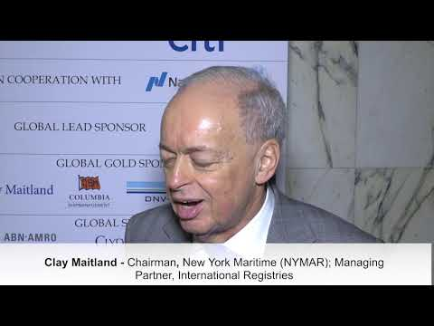 2018 12th Annual International Shipping & Offshore Forum -  Clay Maitland Interview