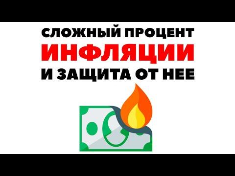 💰🧲 2 вопроса по инфляции: Сложный процент инфляции и разные валюты
