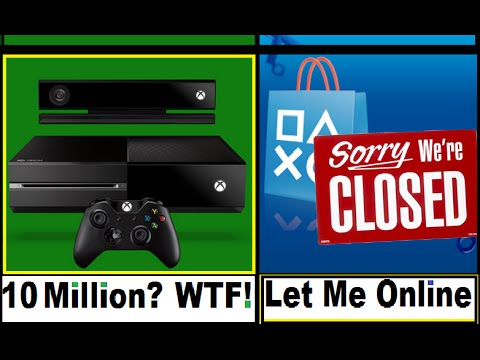 WTF !!! Can't Get On PSN! Here's How  to Get Back Online. Xbox One sold 10 Million Units? Halo 5 MP