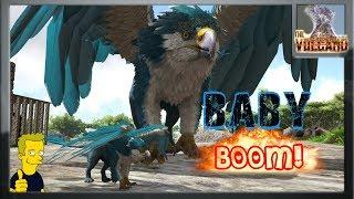 BABY GRIFFIN  doo doo doo doo doo doo - ARK: Survival THE VOLCANO [ EP20 ]
