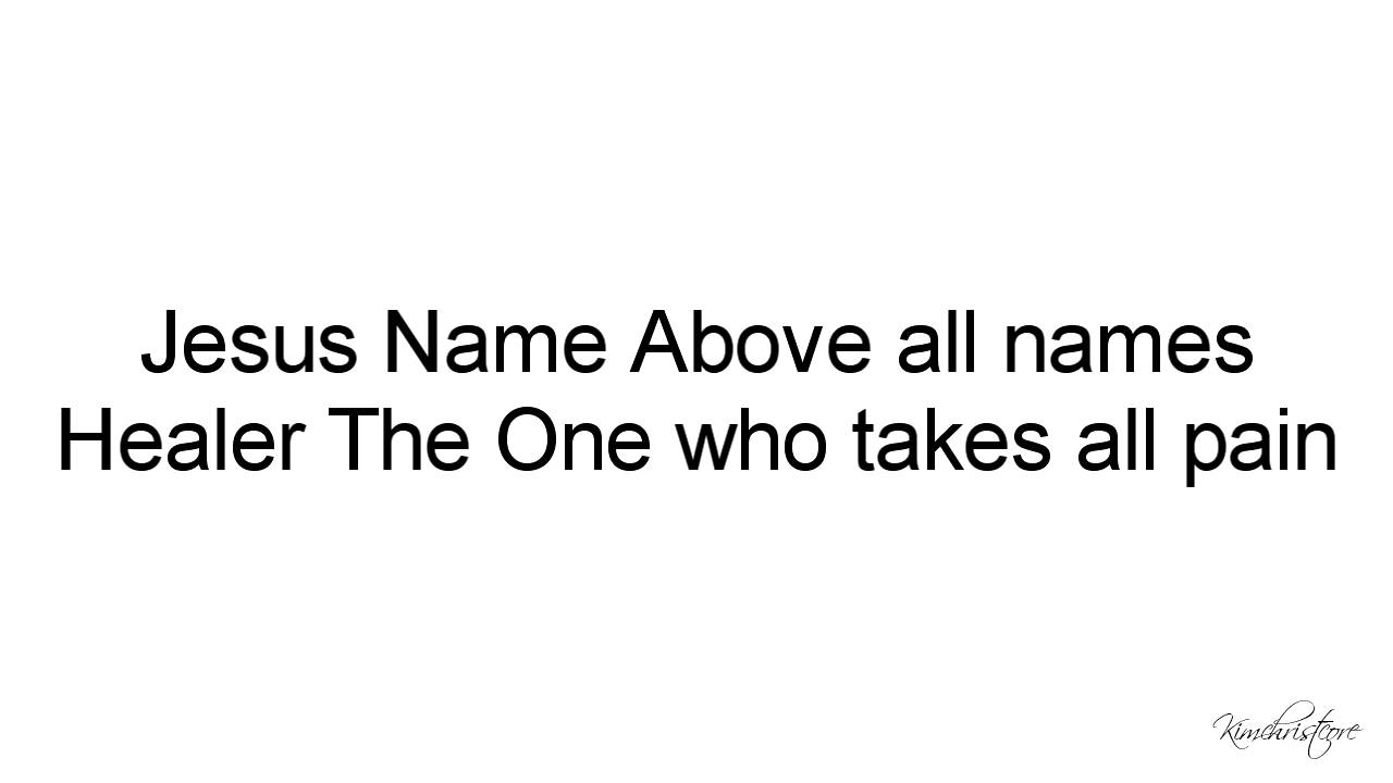 Planetshakers no other name live 2014 lyrics youtube planetshakers no other name live 2014 lyrics hexwebz Image collections