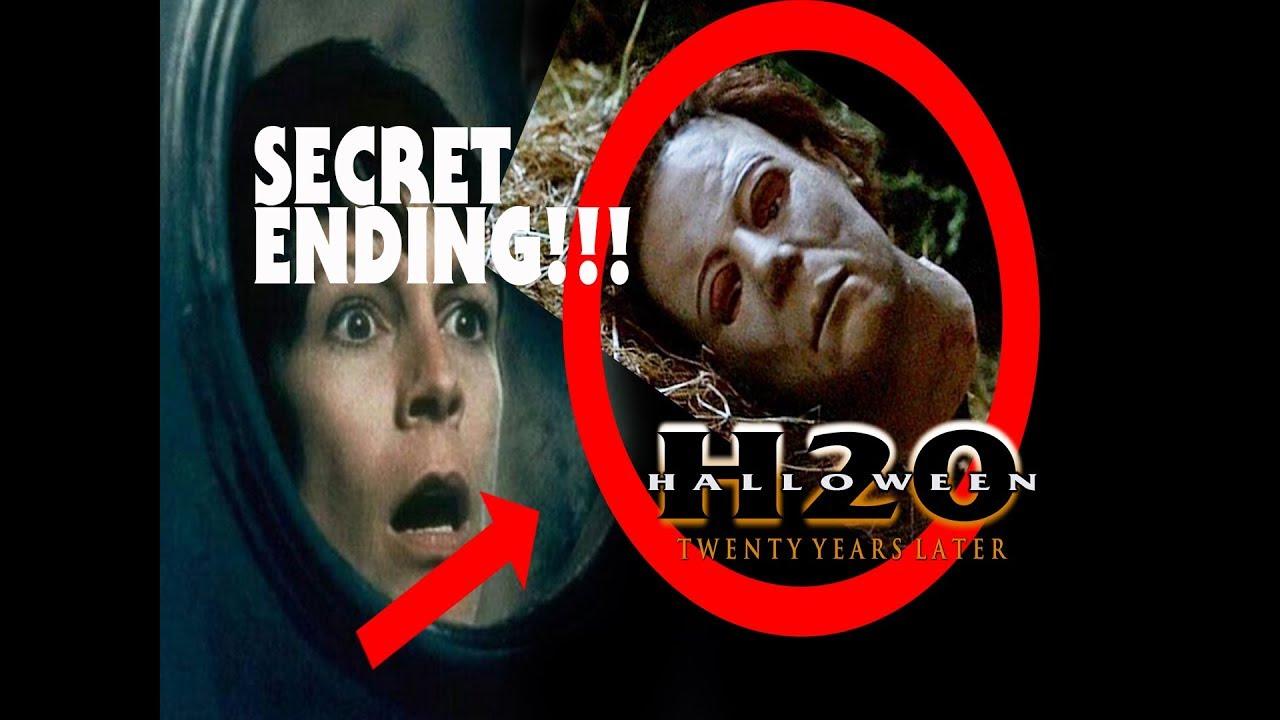 Halloween Resurrection Ending.Halloween H20 Secret Ending Revealed