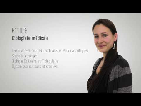 CV Vidéo d'Emilie - Biologiste médicale
