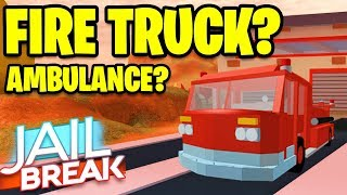 🌋 Roblox Jailbreak VOLCANO ERUPTING SOON | NEW FIRE TRUCK OR AMBULANCE | Roblox Jailbreak LIVE