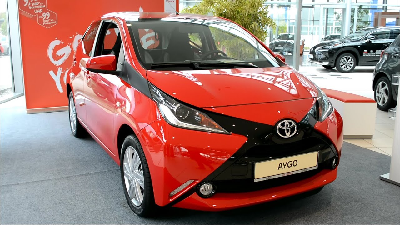 2015 new toyota aygo x-play touch exterior and interior - youtube
