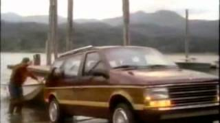 1986 Plymouth Sundance & Voyager commercial