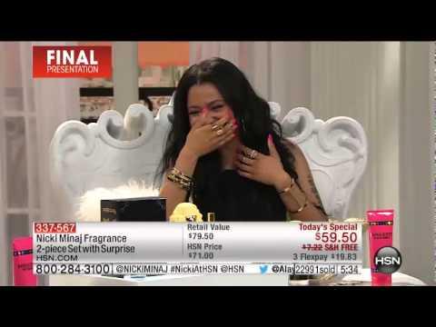 Nicki Minaj On HSN Part 2