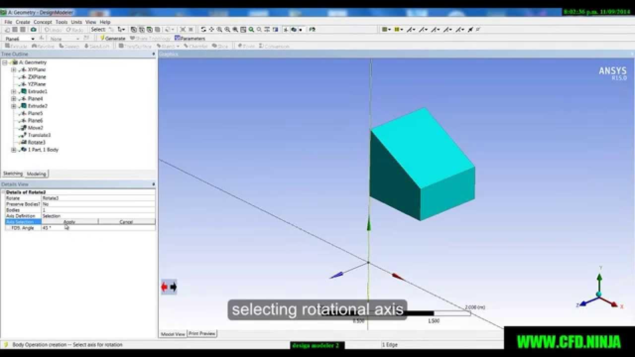 Geometry scaling