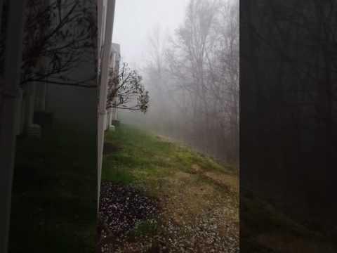 Hail Storm Hits Chester, Virginia