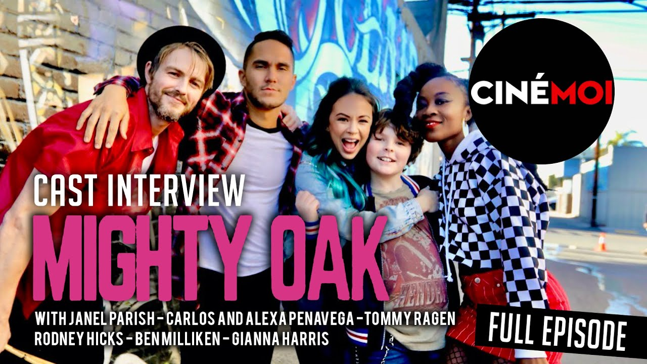 Download MIGHTY OAK (2020) Cast Interview with Janel Parrish, Carlos and Alexa PenaVega, Tommy Ragen
