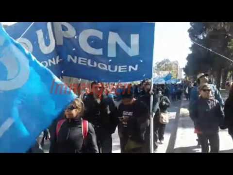 Los gremios marchan en contra de la represión policial