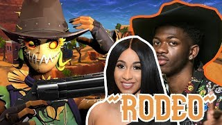 Lil Nas X, Cardi B - Rodeo (Fortnite Parody) / Build Like A Pro