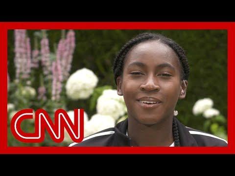Tennis star Cori 'Coco' Gauff reflects on historic Wimbledon run