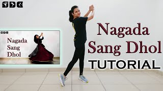 Step by step Dance TUTORIAL for Nagada Sang Dhol song   Shipra's Dance Class