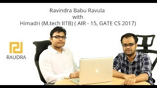 RBR With Himadri My GATE Journey \u0026 Life At   T B