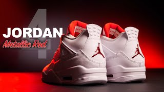Jordan 4 Metallic Red | On Foot 4K Review
