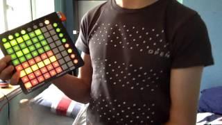 Novation Launchpad mini MK2 - Demo - first impressions - Korg MicroKey 25
