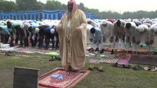 Namaz e eid ul fitr 2015 by shaikh hafiz shakeel ahmad at mori gate delhi