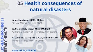 Health consequences of natural disasters