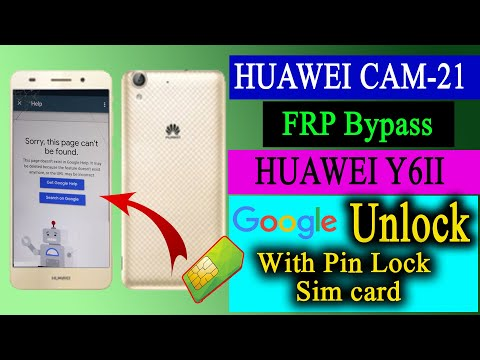 Huawei cam-l21 frp bypass || new method huawei y6-2 frp unlock talkback not working solution