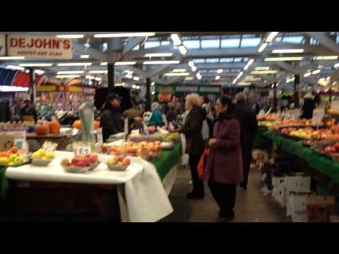 Leicester Fruit Market, England, UK