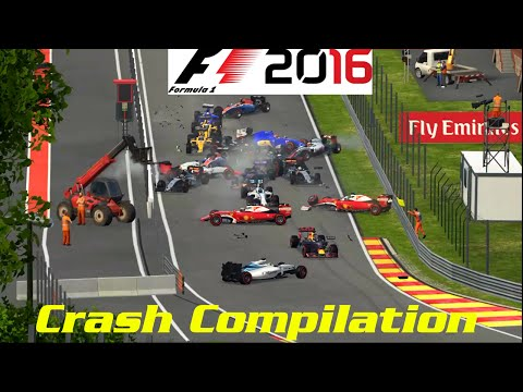 F1 2016 - 100% Race at Spa-Francorchamps, Belgium in Verstappens Red Bull