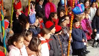 Caramelles infantils al Claustre de la Catedral d'Urgell