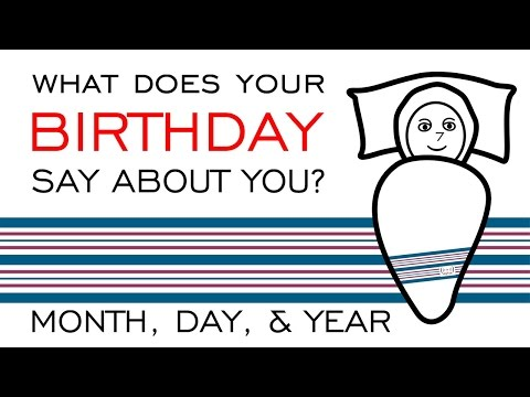 What does your birthday say about you?