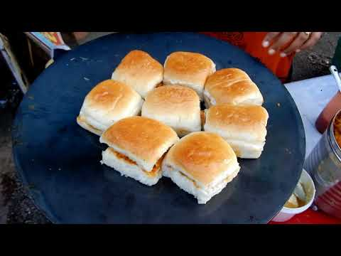 Famous Kutchi Dabeli | Woman Cooking Delicious Street Food in India